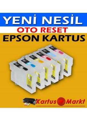 Epson T1291-T1294 (4 Renk) Uyumlu Dolan Kartuş