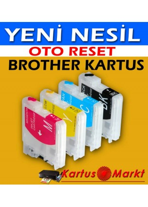 BROTHER LC 39-1100 DOLAN KARTUŞ SETİ