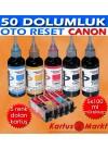 Canon PGI-5 CLI-8 (4 Renk) Uyumlu Kartuş Dolum Seti