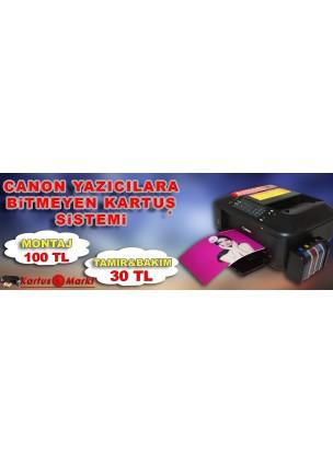 CANON MX 475 BİTMEYEN KARTUŞLU YAZICI