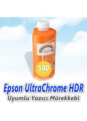 Epson UltraChrome HDR Uyumlu Plotter Mürekkebi - 500gr